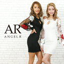 AngelR エンジェルアール[フラワーフレアスリーブタイトミニドレス]ミニドレス タイト 長袖 袖あり フラワー刺繍 細い…