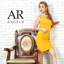 AngelR エンジェルアール [オーロラビジューショルダーデザインタイトミニドレス]ミニドレス タイト ノースリーブ ビ…