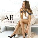AngelR エンジェルアール [デコルテカットバックレースアップタイトロングドレス]ロングドレス タイト 袖あり ビジュ…