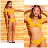 ボタニカルハイネックビキニ swimsuit high neck swimsuit figure cover swimsuit Lady's bikini working under Miranda Miranda race Topps