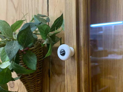 ディスプレイケース透明ガラスアンティークブラウンw35d6h55cmロングタイプ木製ひのきハンドメイドオーダーメイド