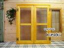 室内窓 採光窓 木製ひのき チェッカーガラス扉(60×70cm扉厚み3cm)マグネット仕様(ナチュラル)受注製作