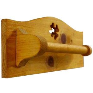 タオルハンガー クローバー 半折 ナチュラル w27d6h11cm 木製 ひのき オーダーメイド 1527940