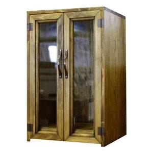 ペットのお仏壇 台座付き ブロンズ取手 27x22x44cm 木製 ひのき ハンドメイド オーダーメイド 1527940