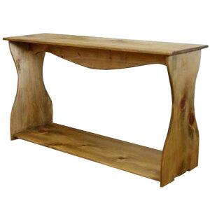 シェルフ 置き型 アンティークブラウン w80d25h44cm ワイドサイズ 木製 ひのき オーダーメイド