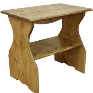 シェルフ 置き型 アンティークブラウン w40d25h36cm 木製 ひのき オーダーメイド