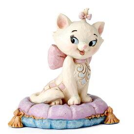 おしゃれキャット マリー ミニ ディズニー グッズ 置物 Disney Traditions 誕生日 クリスマス プレゼント ギフト プレゼント ディズニー グッズ フィギュア 置物 ディズニー プリンセス ギフト 返品交換不可