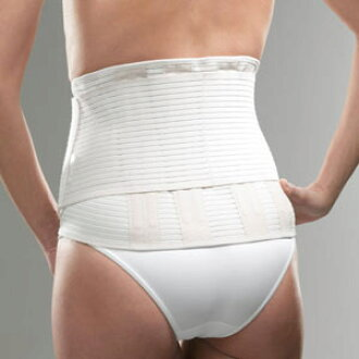 法国的医疗支持者坐佛朱安妮的腰一名支持者新活动 XL 大小,但容易移动 (紧身胸衣)