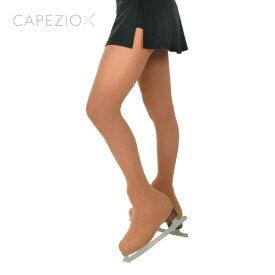 【capezio】 フィギュアスケート タイツカペジオ大会用 フック無し オーバーシューズタイツ (ブーツカバー 靴カバー 足先カバー) 子供 大人 ジュニア ヌード サンタン nude suntan 1812 1812c