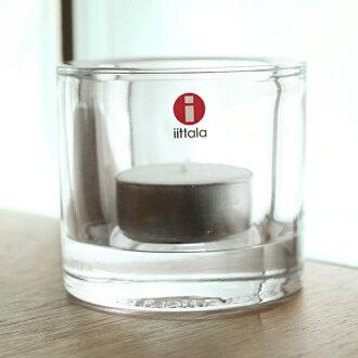 (Iittala) Iittala Kivi candle holder clear