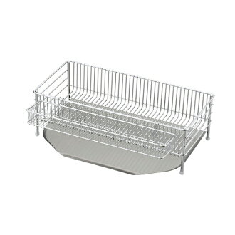 La base ( reverse ) Dish drainer basket slim 3-piece set