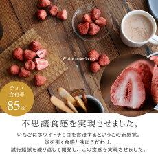 ホワイトいちごチョコハーフサイズ/いちごチョコ/フリーズドライ/含浸