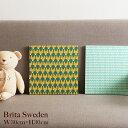 【8/10マークダウン】BRITA SWEDEN(ブリタスウェーデン) ファブリックパネル W30cm×H30cm