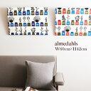 【8/10マークダウン】almedahls(アルメダールス) ファブリックパネル W60cm×H42cm