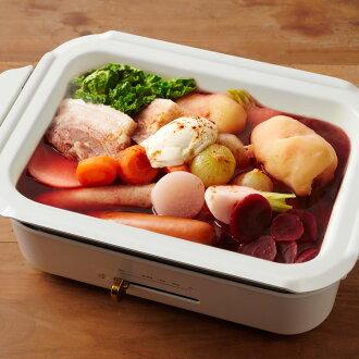 BRUNO Bruno compact hot plate for pots ceramic coat