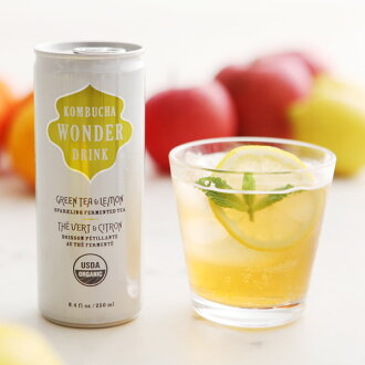 KOMBUCHA WONDER DRINK 건강 발효 음료 コンブチャ
