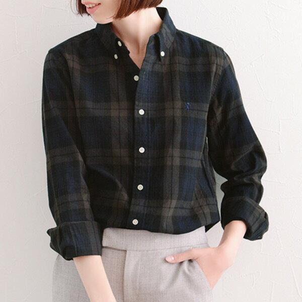 【1/8マークダウン】GYMPHLEX チェックシャツ/ジムフレックス