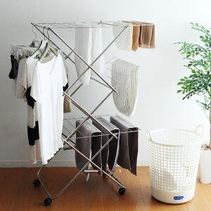大木製作所 タワー型室内物干し 3段【送料無料】