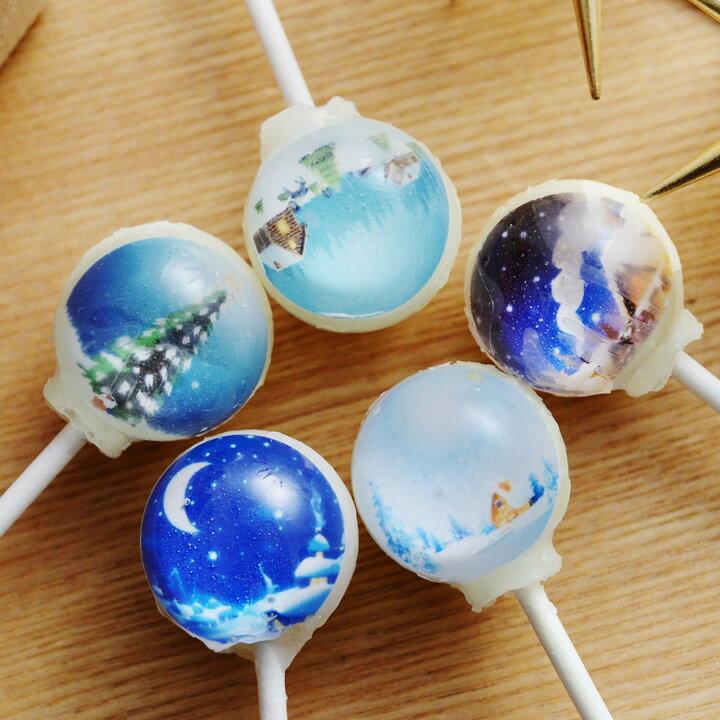 I want candy スノードーム ロリポップキャンディ