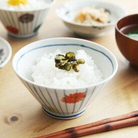 九谷青窯 堀畑蘭 色絵野菊 茶碗/ほりはたらん