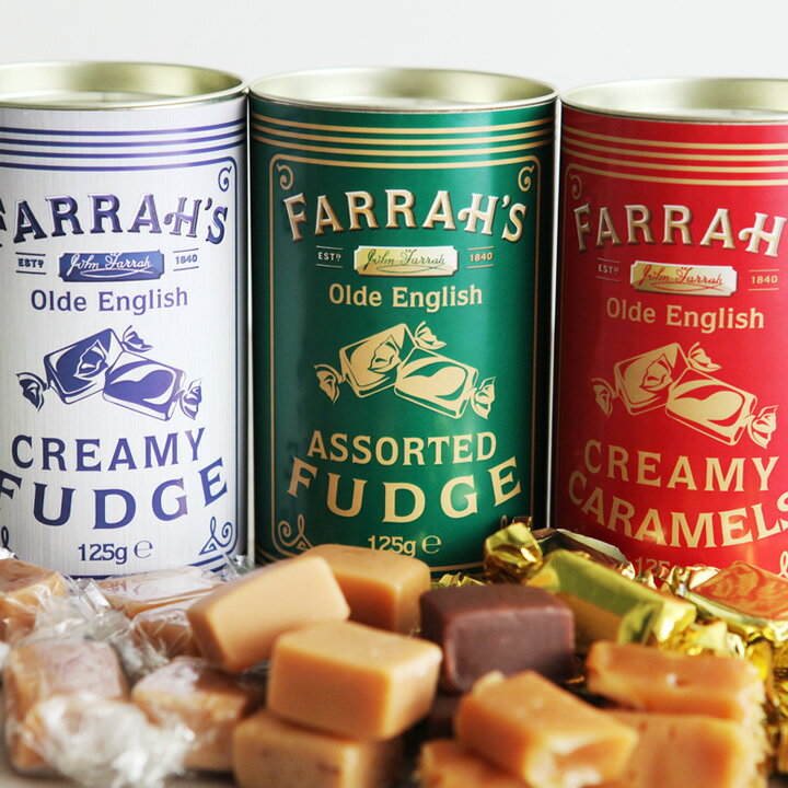 ホワイトデー お返し FARRAH'S キャラメル&ファッジ カートカン/ファラーズ