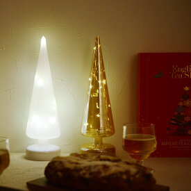ガラス製 スムースツリー LEDライト