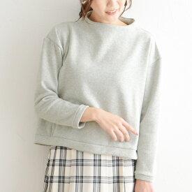 裏ベロアカットソー ボンバーヒート(R)プルオーバー/ディシテ dignite