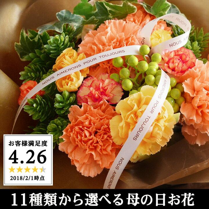 母の日ギフト 直前割 Merci メルシー 母の日 花 カーネーション アレンジメント 花束 鉢植え