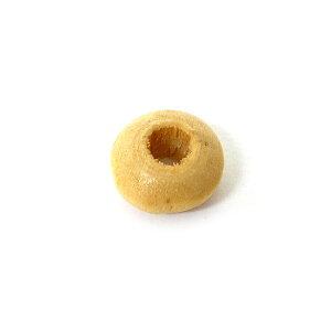 アクセサリーパーツ 木のビーズ 15個入り ドーナツ型 ナチュラル アジアン 雑貨 バリ 雑貨 タイ 雑貨 アジアン インテリア【ゆうパケット対応】