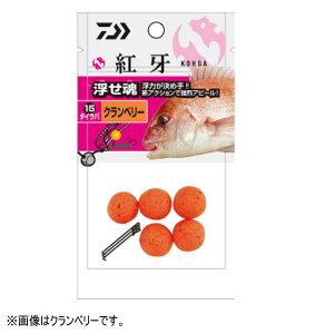 ダイワ 紅牙 浮せ魂 15 イカスミブラック 【メール便 / 代引不可】