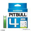 シマノ ライン PEライン ピットブル4 PL-M74S 300m 1.2号 ライムグリーン 【メール便 / 代引不可】