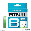シマノ ライン PEライン ピットブル8 PL-M78S 300m 1.0号 ライムグリーン 【メール便 / 代引不可】