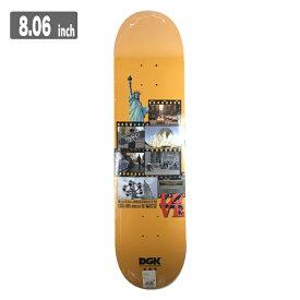 DGK × THORO DOR ディージーケー スケートボード デッキ 8.06
