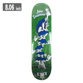 DGK TURTLE DTU ディージーケー スケートボード デッキ 8.06