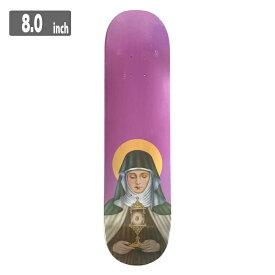 THEORIES NEW RELIGION Deck セオリーズ スケートボード デッキ 8.0