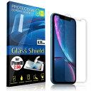 液晶保護フィルム iPhoneXR 2.5D 9H ガラスシールド(全透明) ガラスフィルム 強化ガラス アイフォン テンアール