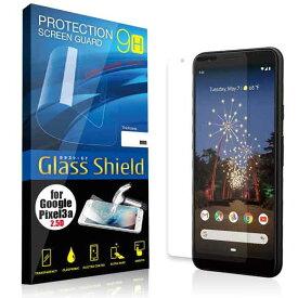 液晶保護フィルム Google Pixel 3a 2.5D 9H 指紋防止(全透明) ガラスフィルム 強化ガラス グーグル ピクセル スリー エー ハロウィン