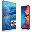 液晶保護フィルム Galaxy A20 2.5D 9H 指紋防止(全透明) ガラスフィルム 強化ガラス ギャラクシー エー トゥエンティ