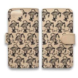 スマホケース 手帳型 iPhone12 mini iPhone12 Pro Max 全機種対応 本革 革 皮 ヌメ革 マグネット スタンド iPhone11 Pro Max iPhoneXs Max iPhoneXR iPhone8 Plus Xperia 10 II Galaxy S20 AQUOS ARROWS 釣りざんまい 釣り好き少年がやってきた