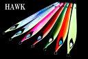 錫ジグHAWK(ホーク)140g グローカラー