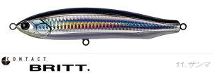 2600 タックルハウス コンタクト ブリット No.11 サンマ tacklehouse CONTACT BRITT. CBP145※ 画像は各サイズ共通です。