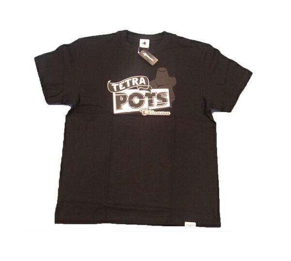 テトラポッツ サインポッツ ブラック Lサイズ tetrapots tpt-049 Tシャツ シャツ SIGN POTS bk ユニセックス