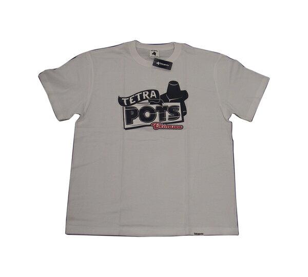 テトラポッツ サインポッツ ホワイト XLサイズ tetrapots tpt-049 Tシャツ シャツ SIGN POTS wh ユニセックス