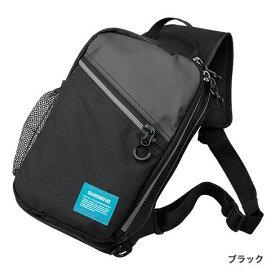 シマノ (Shimano) BS-025Q ブラック Sサイズ ショルダーバッグ