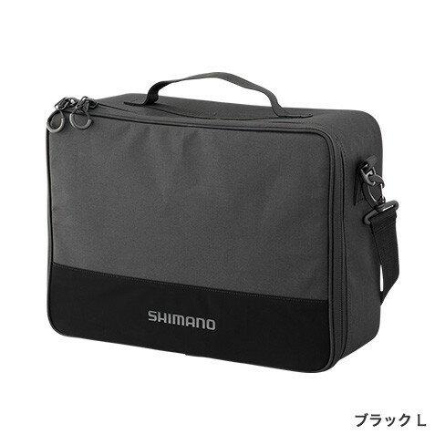 シマノ (Shimano) PC-029R Lサイズ ブラック リールポーチ