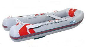ジョイクラフト (JOYCRAFT) レッドキャップ335ロング (JRC-335) 予備検査無 5人乗り リジッドフレックス ゴムボート (超高圧電動ポンプ無)