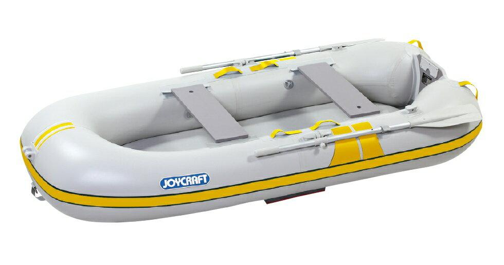 ジョイクラフト(JOYCRAFT)ゴムボート TRM-270GSセット 4人乗り 高速電動ポンプ+プレッシャーゲージ付きセット