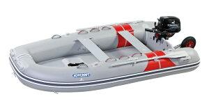 ジョイクラフト 船外機付きゴムボートセット JEX-315ワイドSSセット 4人乗り トーハツ6馬力セット