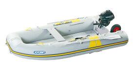 ジョイクラフト 船外機付きゴムボートセット キャロット303SSセット トーハツ2馬力セット グレー