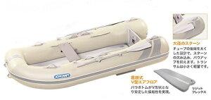 ジョイクラフト 船外機付きゴムボートセット ラポッシュ260SSセット 3人乗り トーハツ2馬力セット